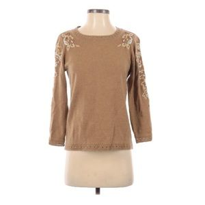 ESCADA Wool Embroider Pullover Sweater